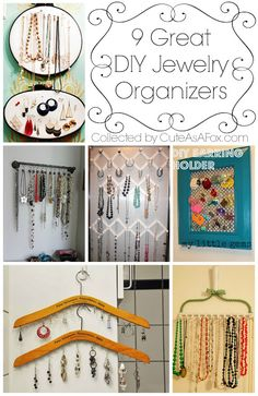 Revamping old jewelry with etching Diy Jewelry Rack, Jewelry Wall, Jewelry Stand, Old Jewelry, Jewelry Armoire, Jewellery Storage, Jewellery Display, Jewelry Organization, Jewelry Cabinet