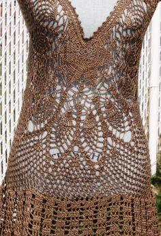 Cover up crochet dress by DearAlina
