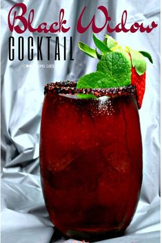 23 Movie Themed Cocktails That Are Awesome - Pretty Rad Lists Recipes The Power of Black Widow Plus an Enigmatic Black Widow Cocktail - Cool Moms Cool Tips Liquor Drinks, Cocktail Drinks, Fun Drinks, Yummy Drinks, Cocktail Tequila, Disney Drinks, Vodka Cocktails, Beverages, Pudding