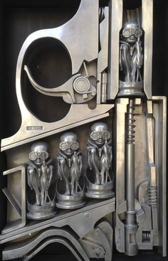 Sculptures de H.R. Giger