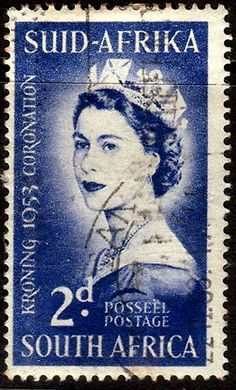South Africa 1953 Queen Elizabeth Coronation Fine Used SG 143 Scott 192 Condition Fine UsedOnly one post charge applied on multipule purchases Old Stamps, Rare Stamps, Vintage Stamps, Union Of South Africa, African History, Queen Elizabeth Ii, Stamp Collecting, Poster, Celebrity Babies