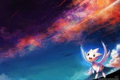 :C: Stargazing by KoriArredondo on DeviantArt Pokemon Fairy, Pokemon Universe, Types Of Fairies, Catch Em All, Anime Kawaii, Stargazing, Fantasy Art, Deviantart, Fictional Characters