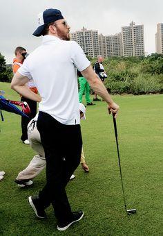 Chris Evans in Hainan, China 10.25.14