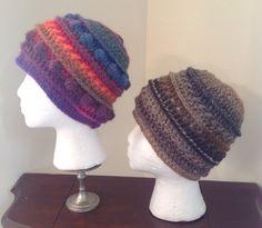 Crochet hats wool