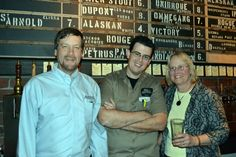 Alaskan Brewery Owners with Ronnie Crocker at Hay Merchant in Houston Visit Houston, Tap Room, Chalkboards, Ipa, Brewery, Interview, Wall, Chalkboard, Writing Boards
