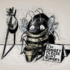Bees provide free service to the food supply with cross-pollination. If more continue to die, we will be in a world of trouble.