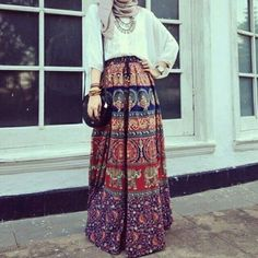 69 Ideas Skirt Hijab Outfit Modest Fashion For 2019 Modest Wear, Modest Dresses, Modest Outfits, Summer Outfits, Modest Summer Fashion, Summer Fashion Trends, Fashion Moda, Boho Fashion, Fashion Outfits