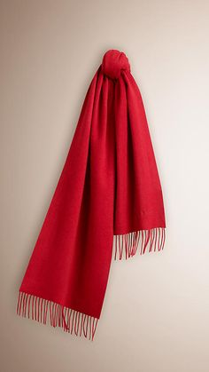 Parade red The Classic Cashmere Scarf Parade red -  1