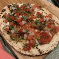 Greek Cooking, Flatbread Pizza, Pita Bread, Greek Recipes, Bruschetta, Slate, Sandwiches, Explore, Check