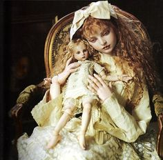 little marionette and doll