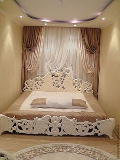 Купить Кровать двуспальная - резная кровать, мебель из дерева, натуральный массив, роскошная, неповторимая, эксклюзивная
