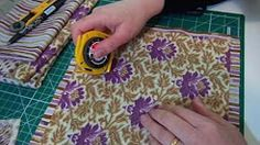 PATCHWORK TECNICA CHENILLE - YouTube
