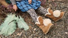 It's always UGG® season. Find the perfect boots, slippers, sneakers, and sandals to complete your look - from statement fluffy platforms to cozy house shoes, we have you covered. Ugg Slippers, Womens Slippers, Thigh Highs, Uggs, Create Account, Cozy, Boots, Cable, Heaven