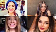 Naz Demir estetikli hali ve önceki hali kıyaslamasına göre burun estetiği olmuş. | Kadınca Fikir - Kadınca Fikir
