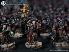 You have GOT to see this amazing full Horus Heresy army by Den of Imagination. This may just be one of the biggest fully …