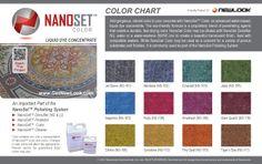 Decorative Concrete Stain Color Chart :: NewLook Standard Concrete ...
