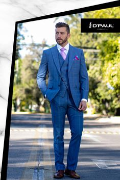 17 Best traje azul zapatos marron images | Wedding suits