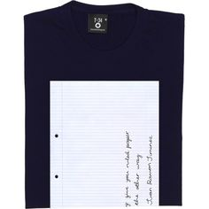 Write The Other Way T-Shirt. Nobel Prize winning Spanish poet Juan Ramón Jiménez on nonconformity: If they give you...