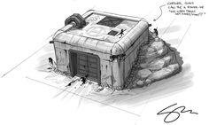 Zombie Gunship: Zombie Safe Bunker Concept Art D