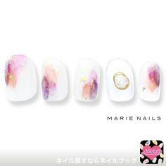 Fancy Nails, Love Nails, Pretty Nails, Mandala Nails, Gem Nails, Japanese Nails, Bridal Nails, Simple Nails, Nail Arts