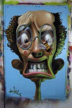 Street Art Surreal street art by the brilliant Street Artist 'Belin'   #art #streetart pic.twitter.com/B9r7Ipezm5