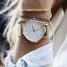 Fashion-forward watches inspired by Amsterdam and NYC. Discover now at www.rosefieldwatc... http://itz-my.com