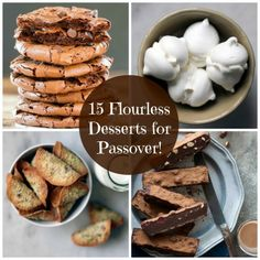 15 Flourless Desserts for Your Passover Table!