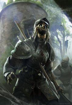 Hunger Demon Skeletal Warrior