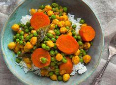 Plated Menu vegetable kari
