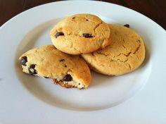 paleo carob chip cookies 006
