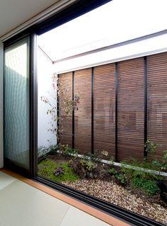 京都の坪庭ハウス