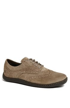 A shoe that Clayton may wear more than once?