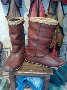 Handmade Ottoman Boots from Turkey. $200.00 Augh!