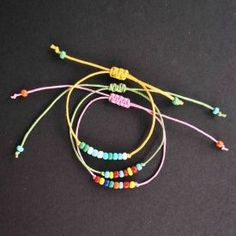 A new way to make friendship bracelets without all the hard work!