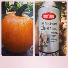 Don't forget to spray your pumpkins with glossy acrylic spray! They will stay fresh a lot longer! Happy Fall!