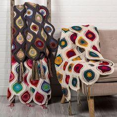 Crochet For Children: Tranquil Retro Throw - Free Pattern