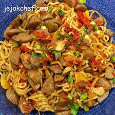 Mie Goreng, Spaghetti, Ethnic Recipes, Food, Essen, Meals, Yemek, Noodle, Eten