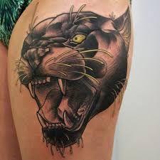 Risultati immagini per tattoo black panther