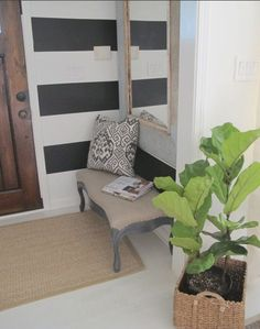 big stripes, small space