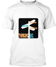 """Thinking big"" Shirt Funny Tank Tops, Funny Tees, Funny Tshirts, Funny Hoodies, Just For You, Mens Fashion, Big, Mens Tops, T Shirt"