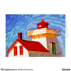 PEI Lighthouse Card