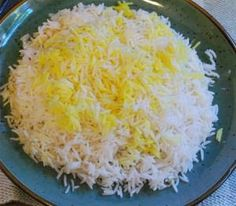 My International Kitchen: Polow and Tah-dig (White Persian Rice)