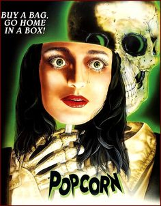 Shop Popcorn [DVD] at Best Buy. Find low everyday prices and buy online for delivery or in-store pick-up. Terror Movies, Horror, Movie Covers, Cool Things To Buy, Stuff To Buy, Popcorn, Halloween Face Makeup, Men's Fashion, Posters