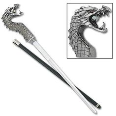Sword Cane - Fighting Dragon Awesome weapons! click through