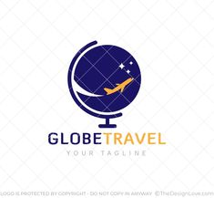 This logo has been designed for travel agencies and other startups working in the travel sector. Design Shop, Logo Design, Stationary Design, Travel Logo, Logo Maker, Travel Agency, Business Card Logo, Art Logo, Startups