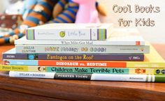 Cool Books for Kids by Sharon Garofalow. Always looking for new ideas!