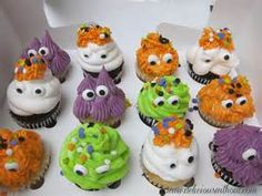 halloween cup cakes - Bing images