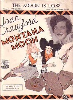 The Moon Is Low - Joan Crawford in Montana Moon (1929)