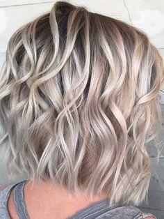 Medium length layered hairstyles 2018