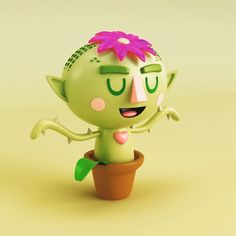 Cute Plant 3D